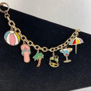 Charm bracelet - summertime! Great gift item!